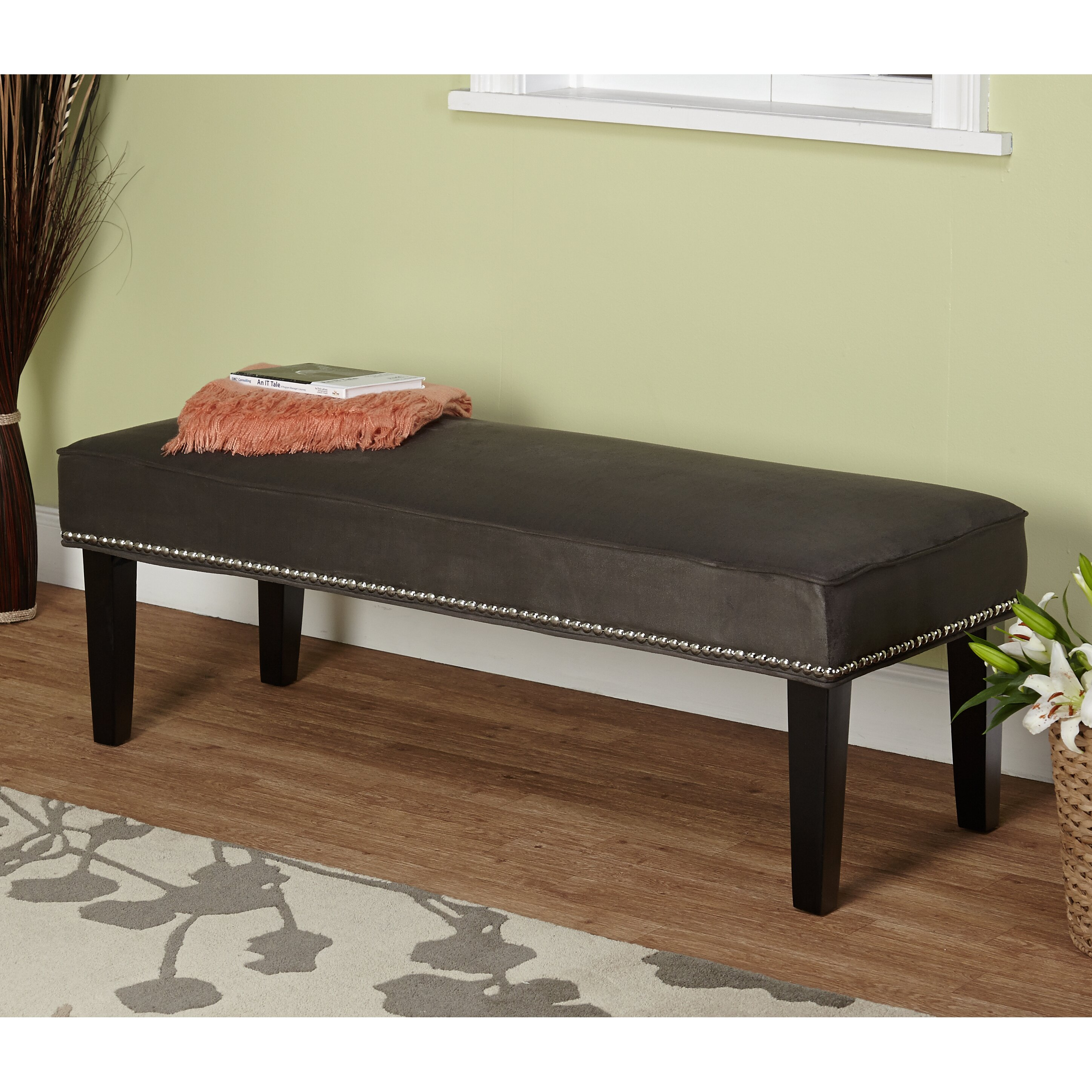 Three Posts Methuen Wood Bedroom Bench Reviews Wayfair