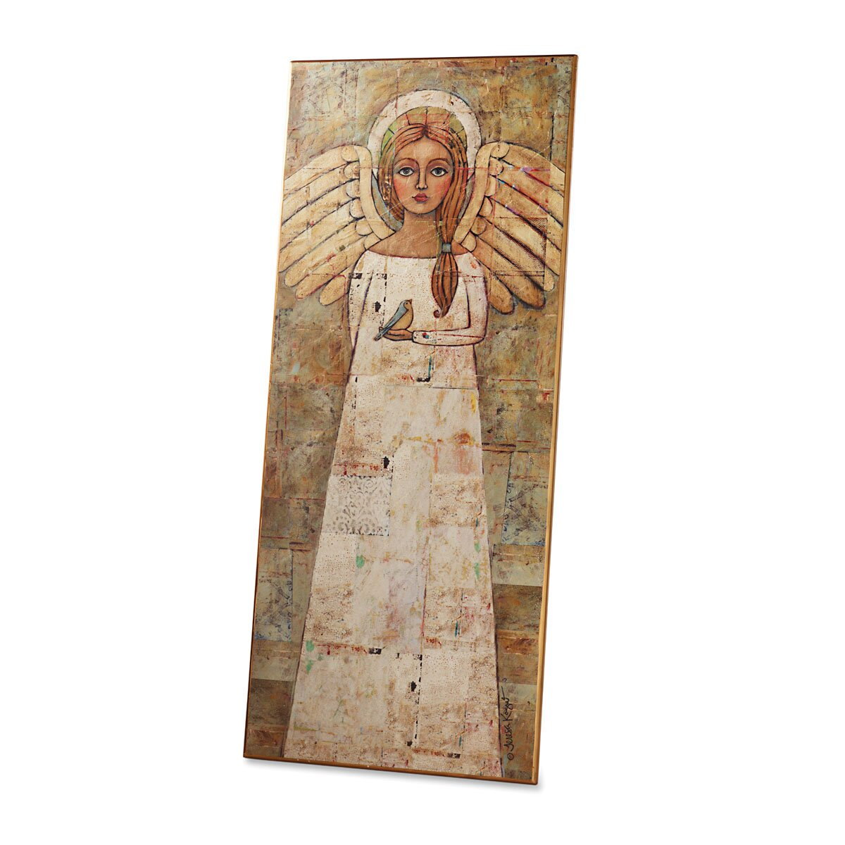 Rejoice angel wall art wayfair for Angel wall decoration