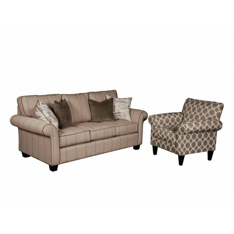 Andrea Sofa And Eli Metro Club Chair Set Wayfair