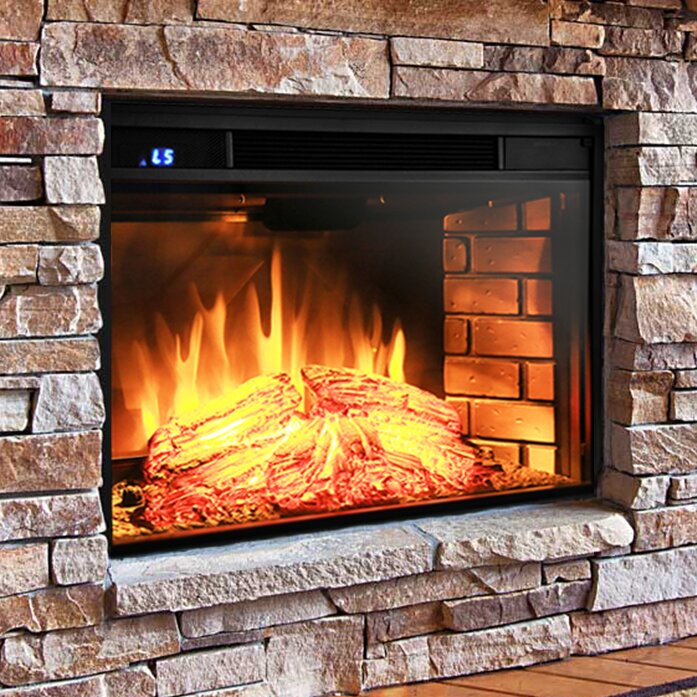 "AKDY 28"" Electric Fireplace Insert & Reviews"