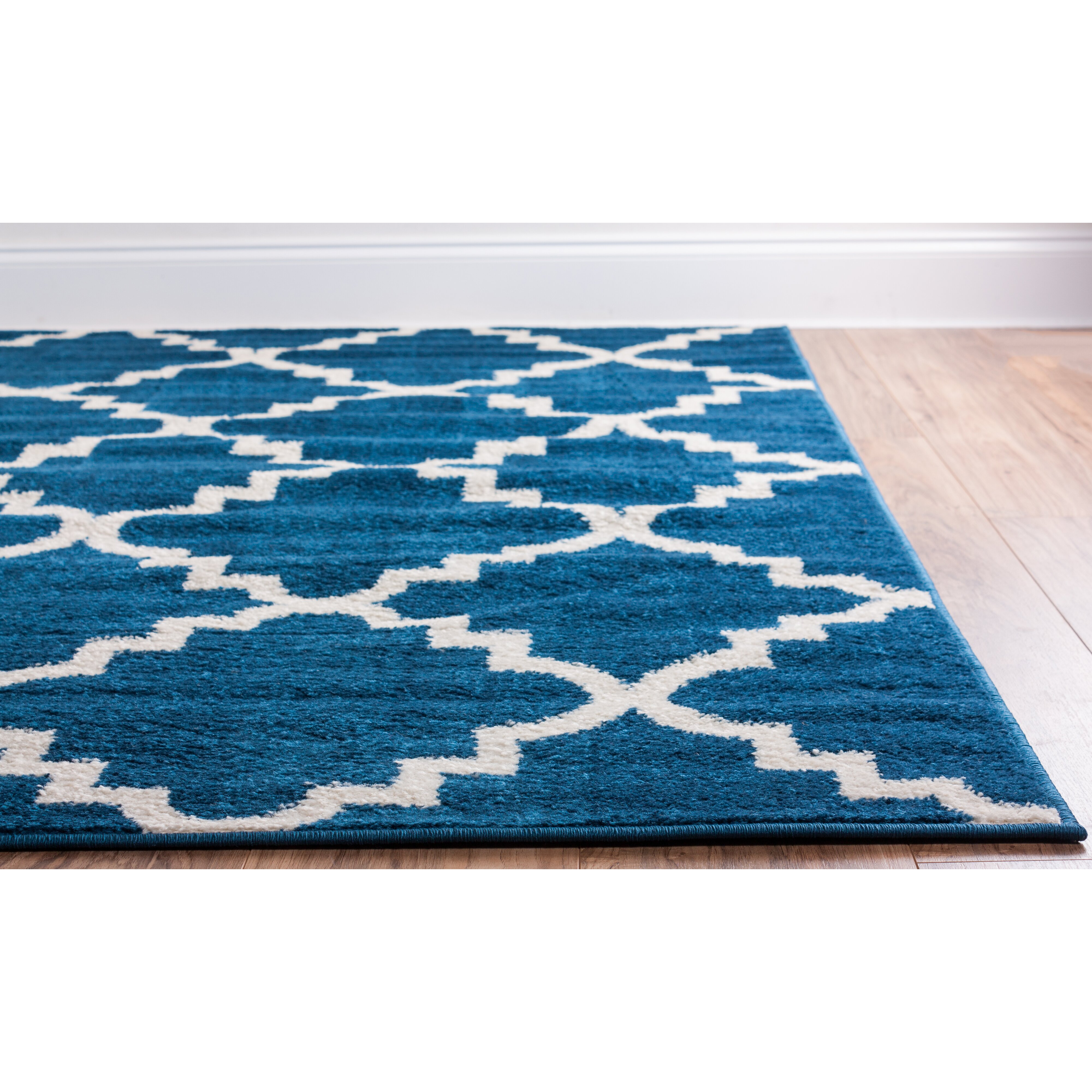 Well Woven Royal Court 3 Piece Blue Area Rug Set Amp Reviews