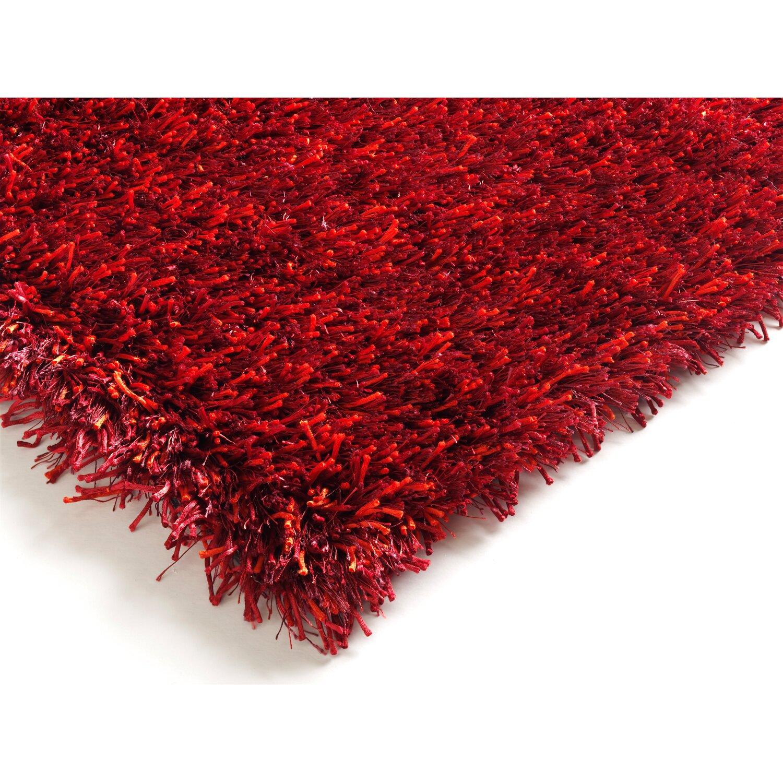 Handgefertigter Teppich in Dunkelrot von House Additions