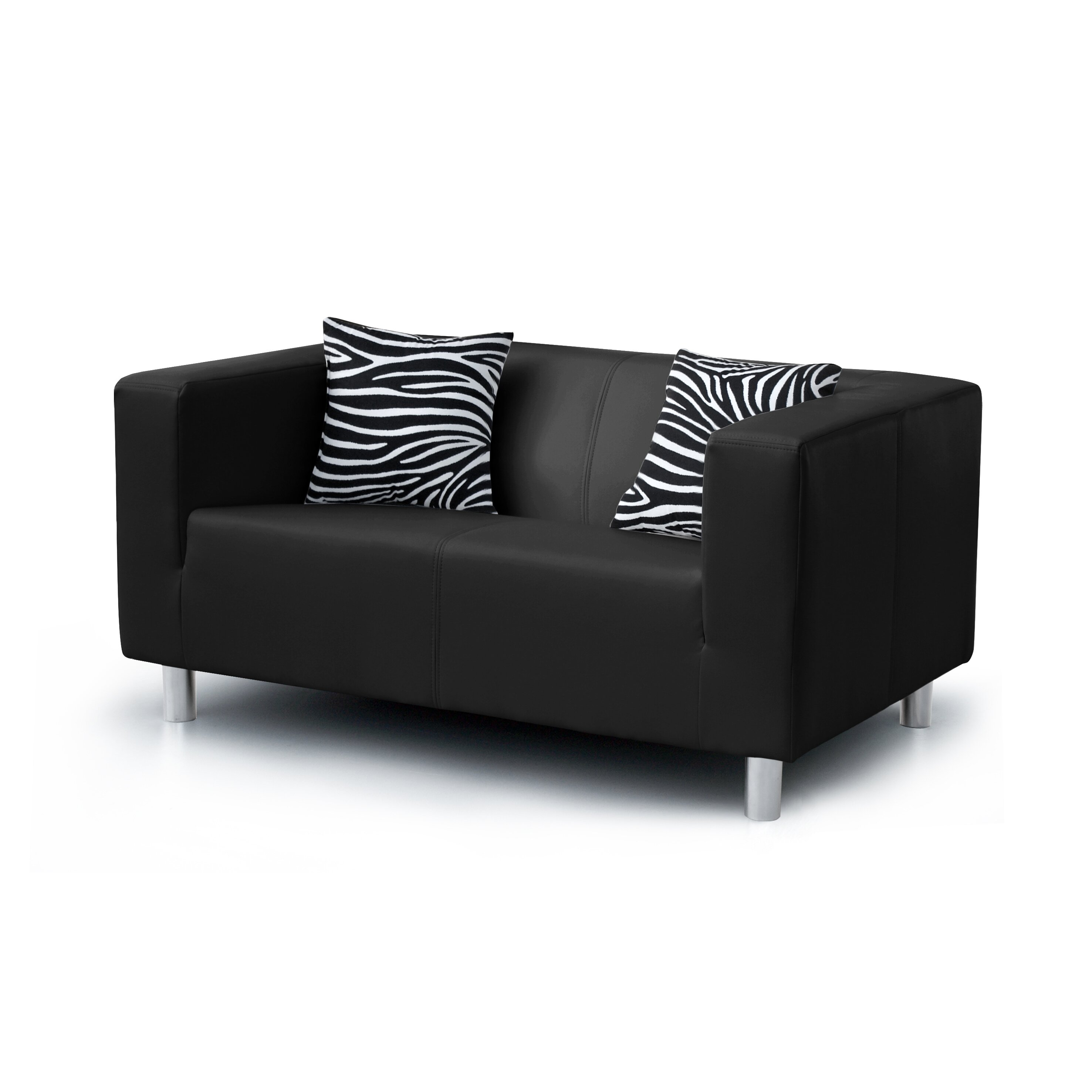 sofa mooki mit zebra kissen von home haus. Black Bedroom Furniture Sets. Home Design Ideas