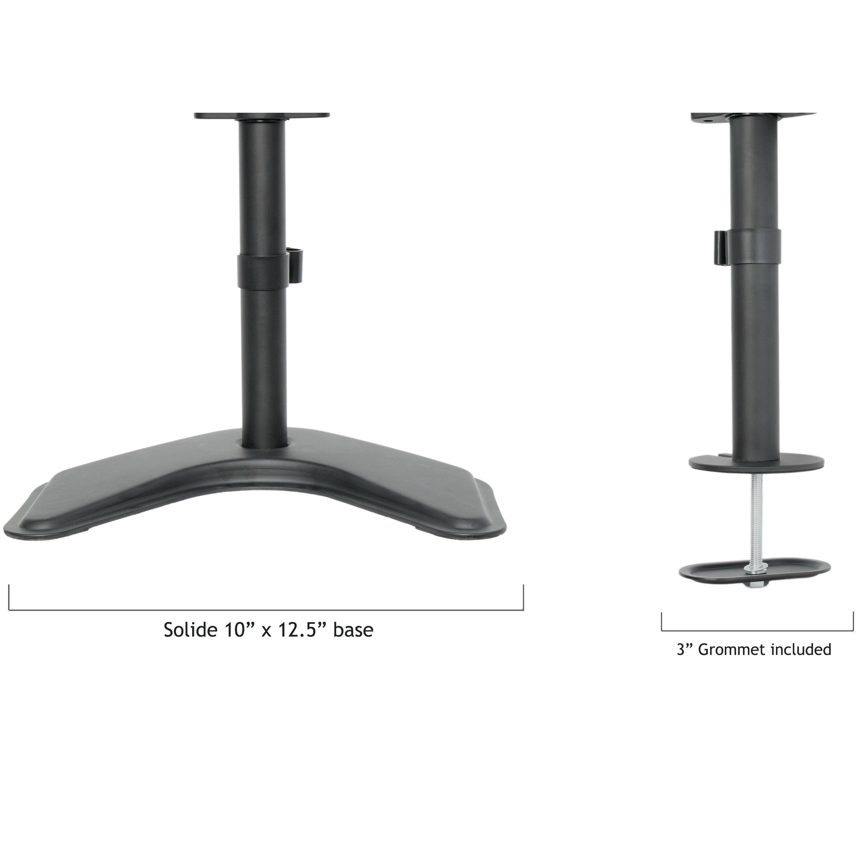 Vivo Quad Lcd Monitor Free Standing Adjustable 4 Screens