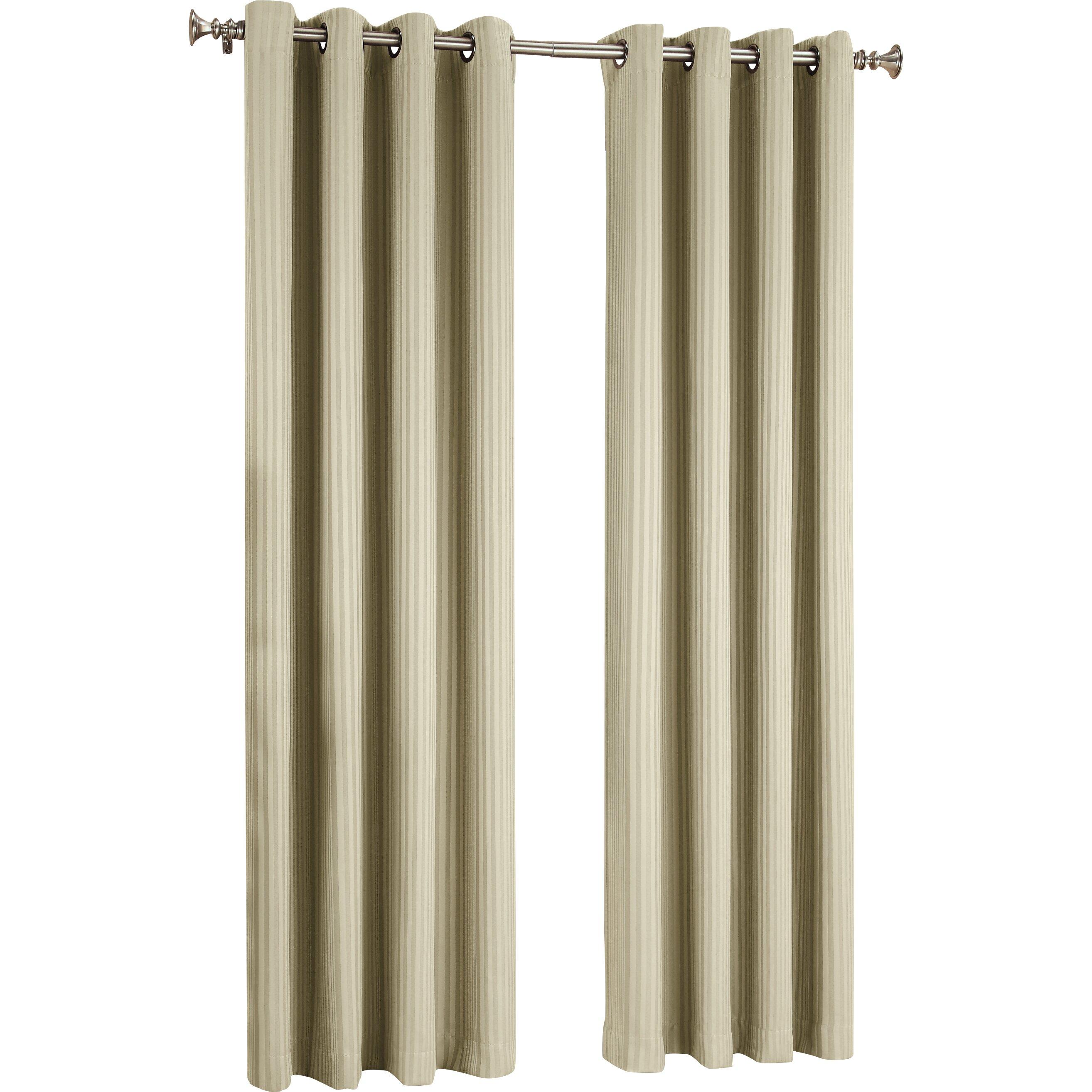 Sun Zero Farris Light Blocking Single Curtain Panel Reviews Wayfair