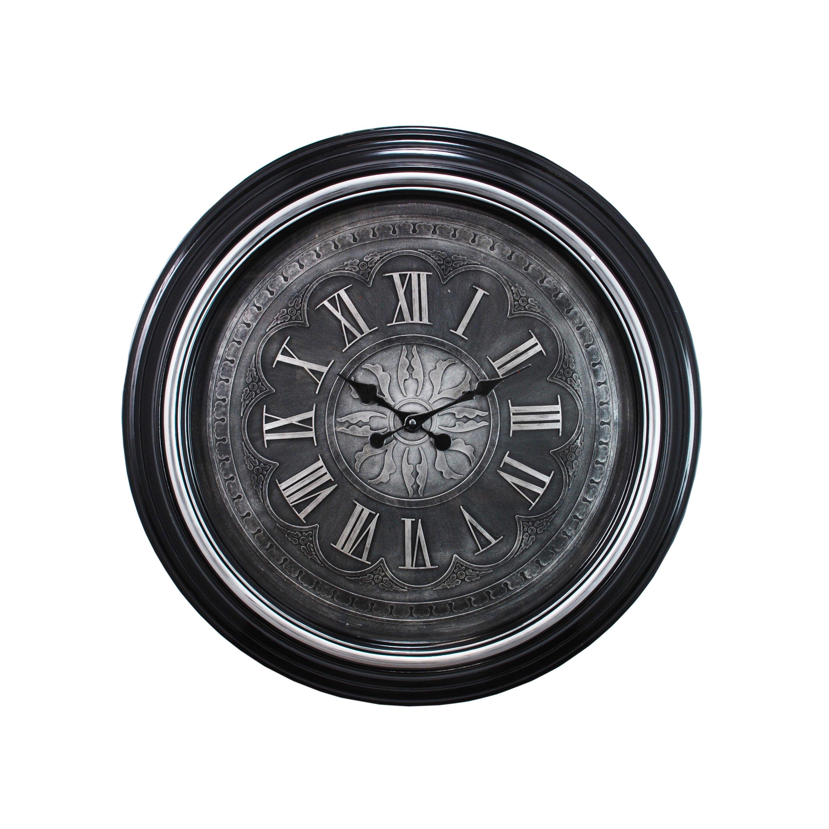 Kiera Grace Oversized 23 Quot Wall Clock Wayfair