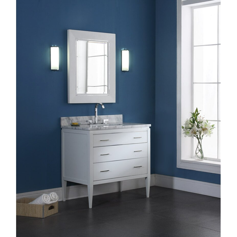 Ryvyr Manhattan 37 Single Bathroom Vanity Cabinet Set Reviews Wayfair