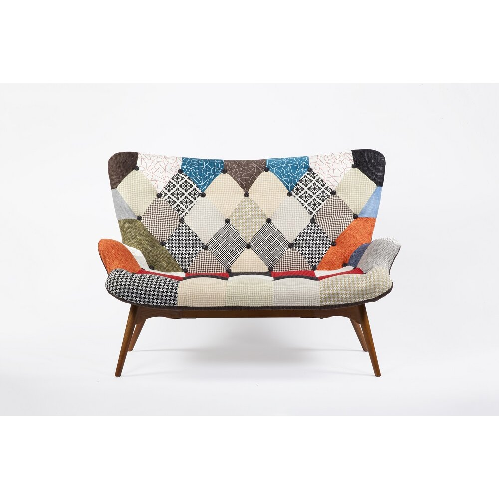 Patchwork sofa wayfair for Patchwork couch