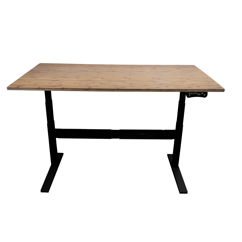 uncaged ergonomics rise up electric standing desk. Black Bedroom Furniture Sets. Home Design Ideas