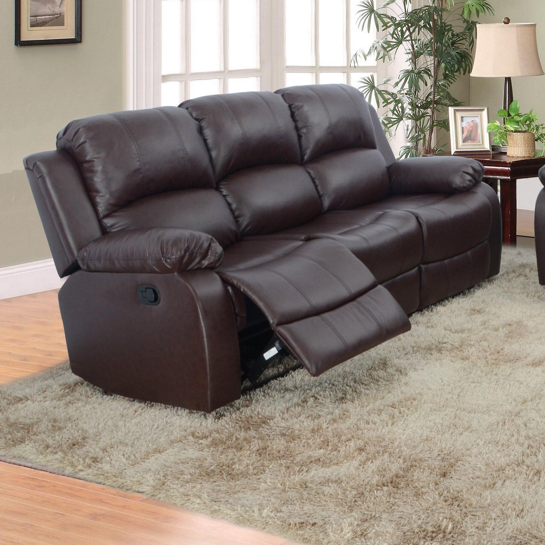 Beverly Fine Furniture Denver Reclining Sofa & Reviews