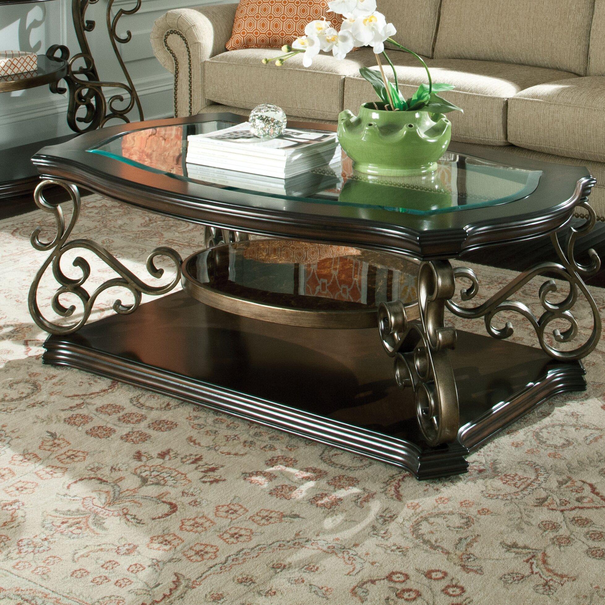 standard furniture seville coffee table reviews wayfair. Black Bedroom Furniture Sets. Home Design Ideas
