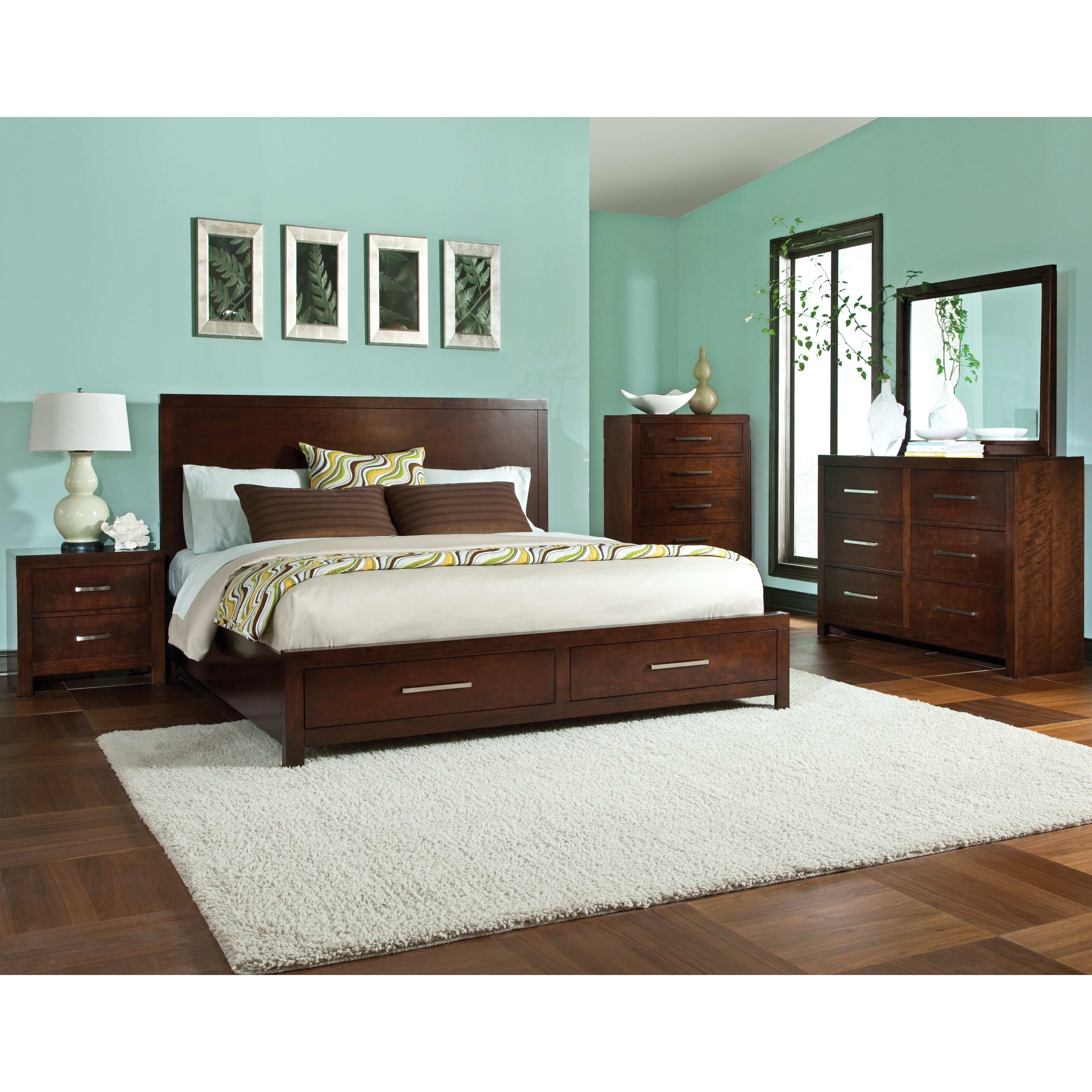 Standard Furniture Metro Platform Customizable Bedroom Set Reviews Wayfair