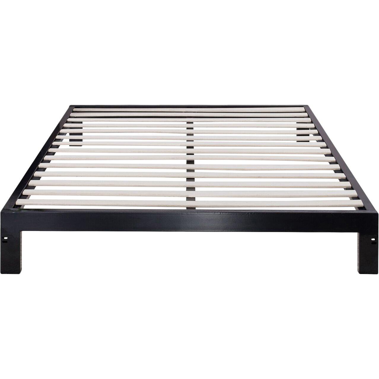 Orthotherapy zinus platform metal 2000 bed frame mattress foundation