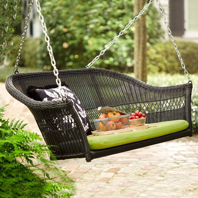 Plow & Hearth Porch Swing & Reviews