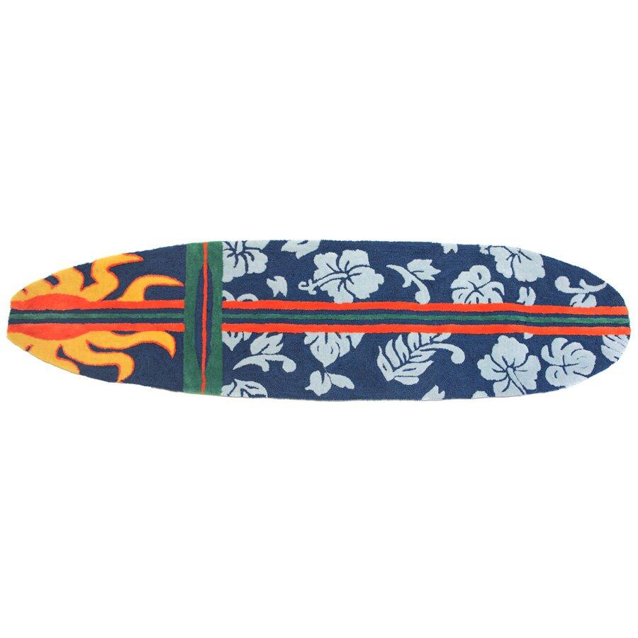 Surfboard Area Rugs