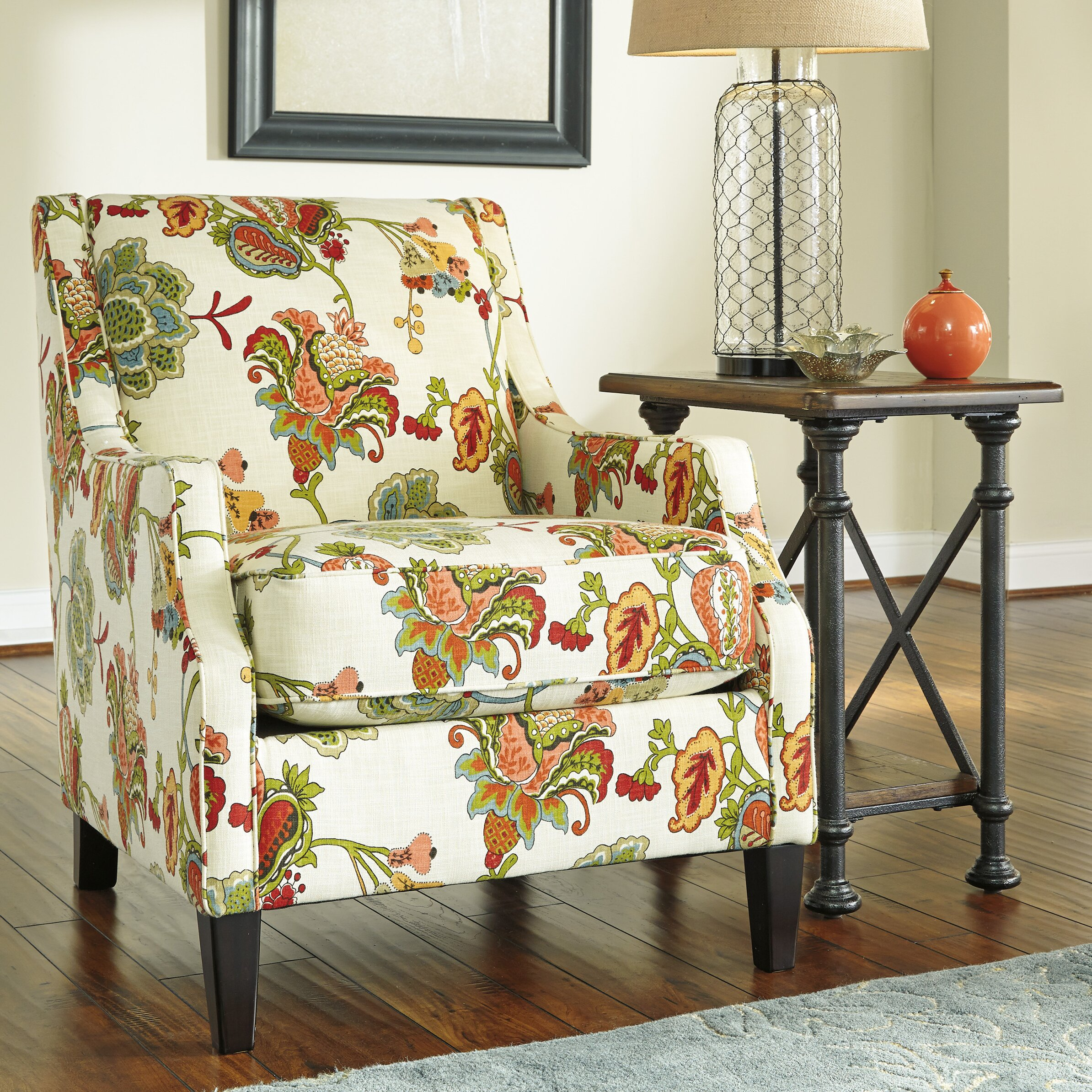 Masculine Chair Covers Kerridon Accent Chair