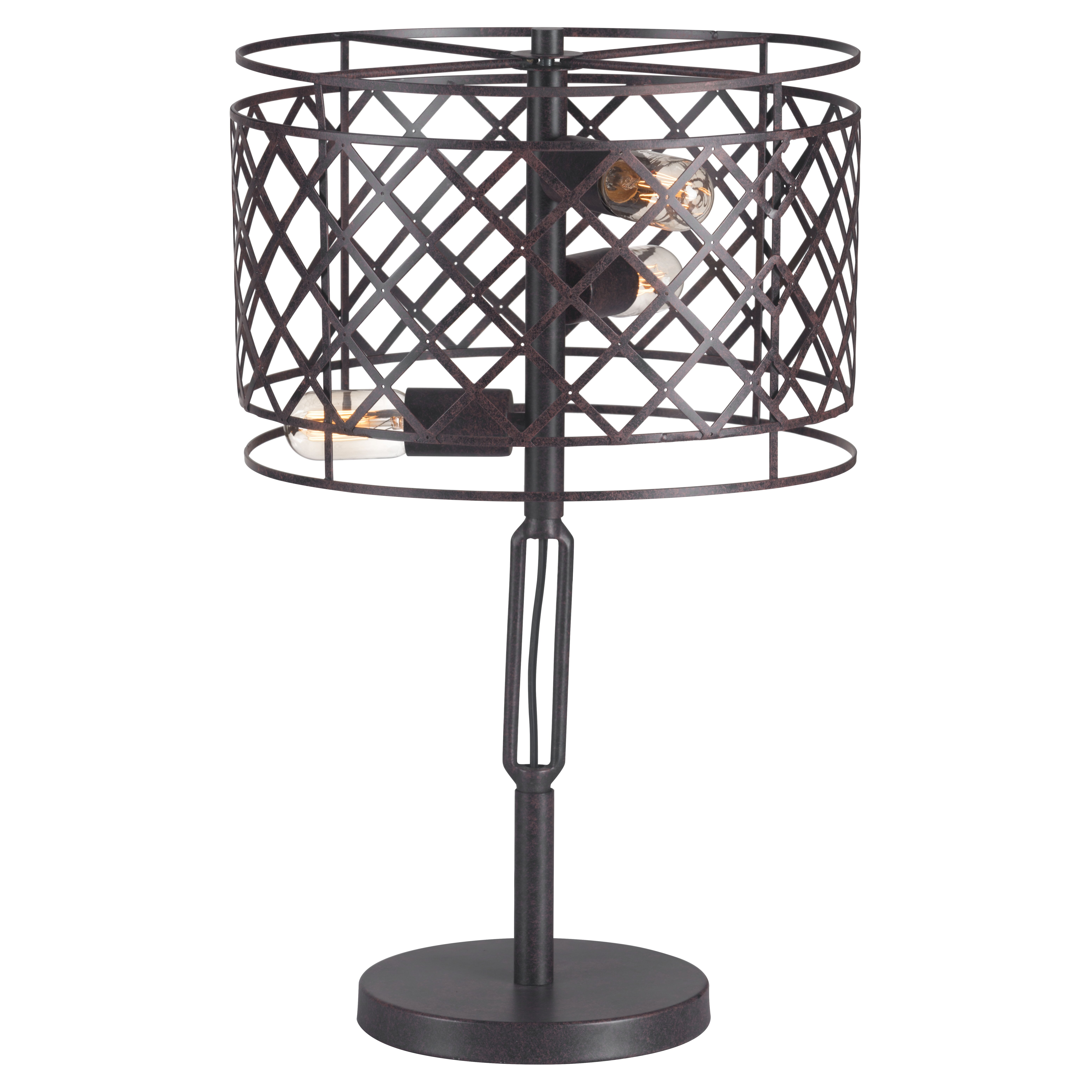 dcor design sprint 24 4 h table lamp with drum shade. Black Bedroom Furniture Sets. Home Design Ideas