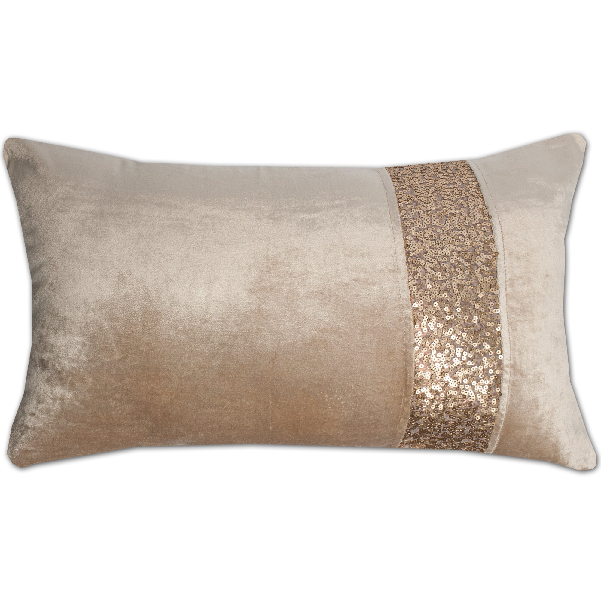 sweet home collection luxury zippered sequin stripe