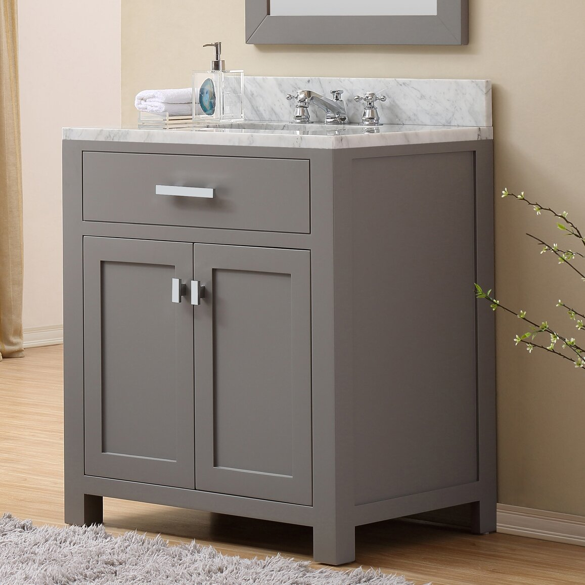 Mercury Row Arax 30 Single Sink Bathroom Vanity Reviews Wayfair