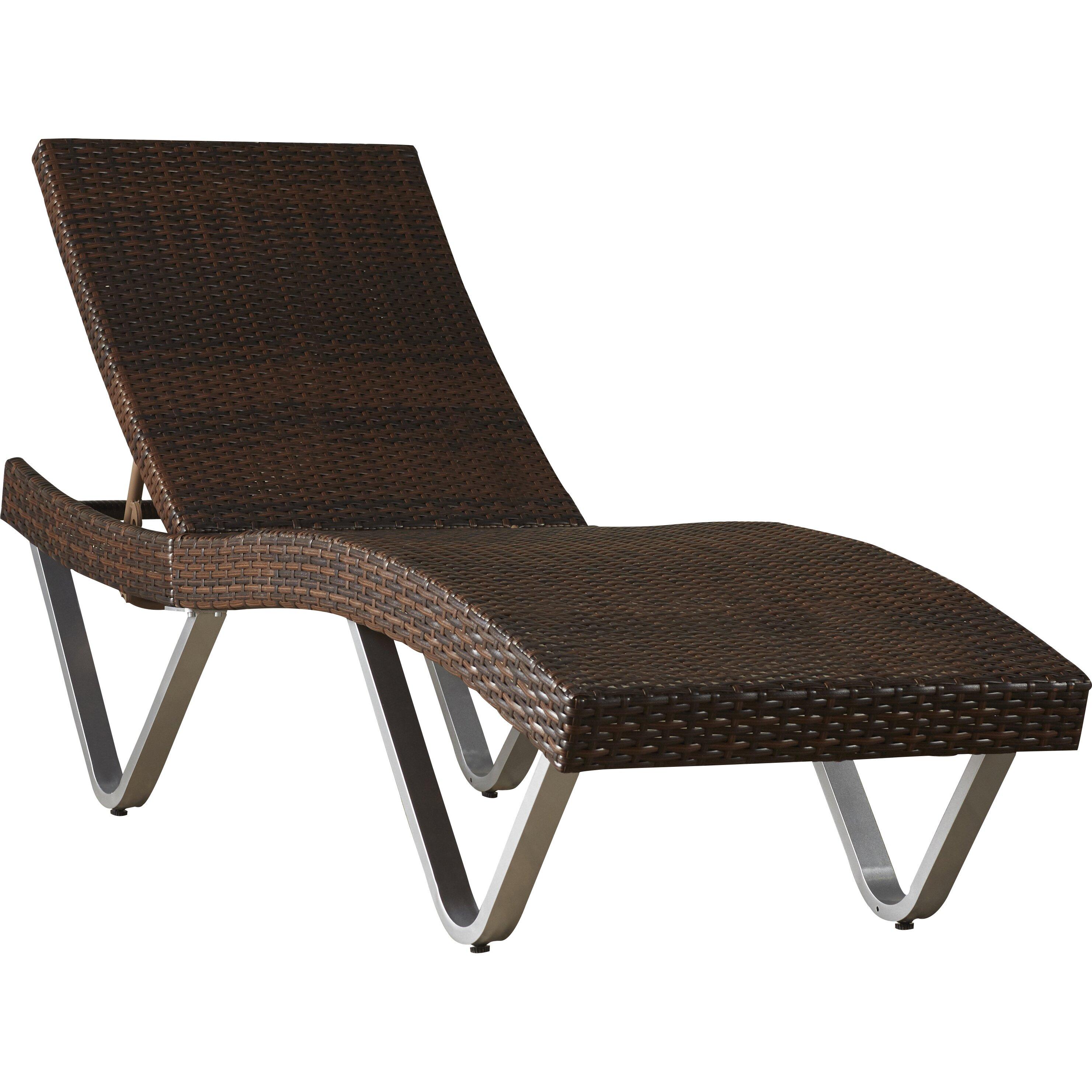 Mercury row chaise lounge reviews wayfair for Ashley san marco chaise