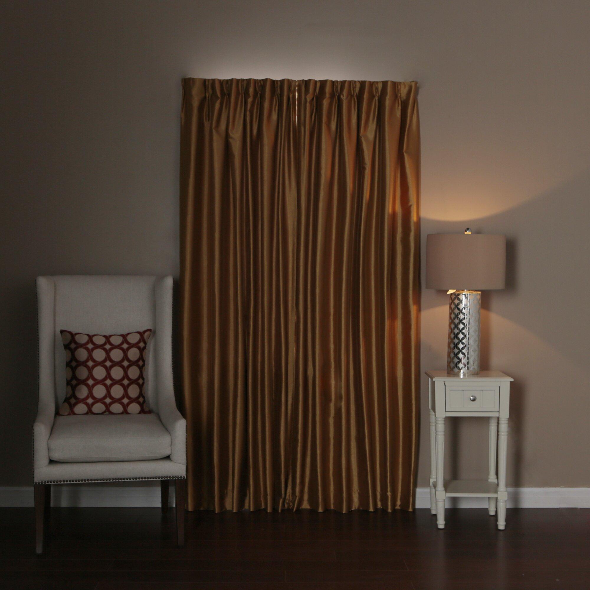 Best Home Fashion Inc Perfect Wraparound Blackout Single