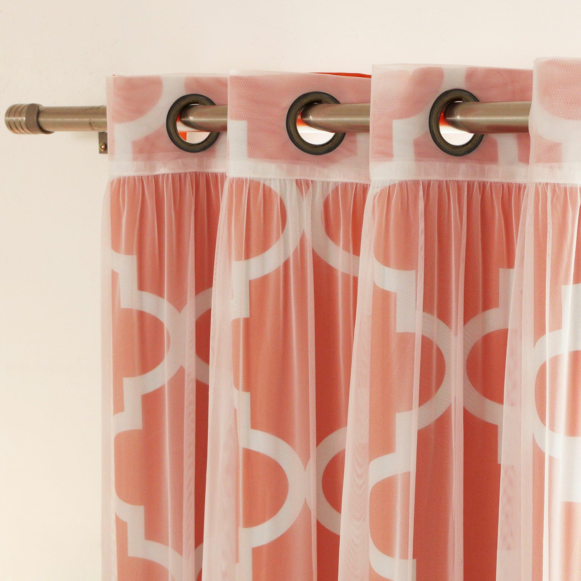 Best home fashion inc mix amp match curtain panel amp reviews wayfair
