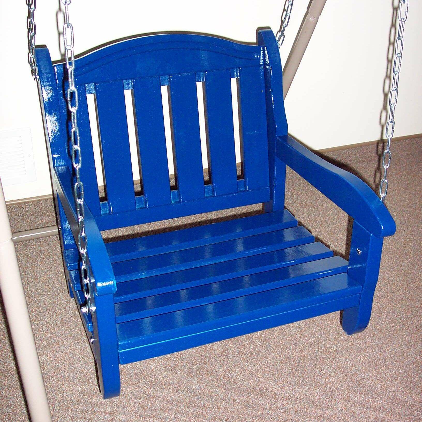 Prairie Leisure Design Garden Chair Porch Swing & Reviews ...