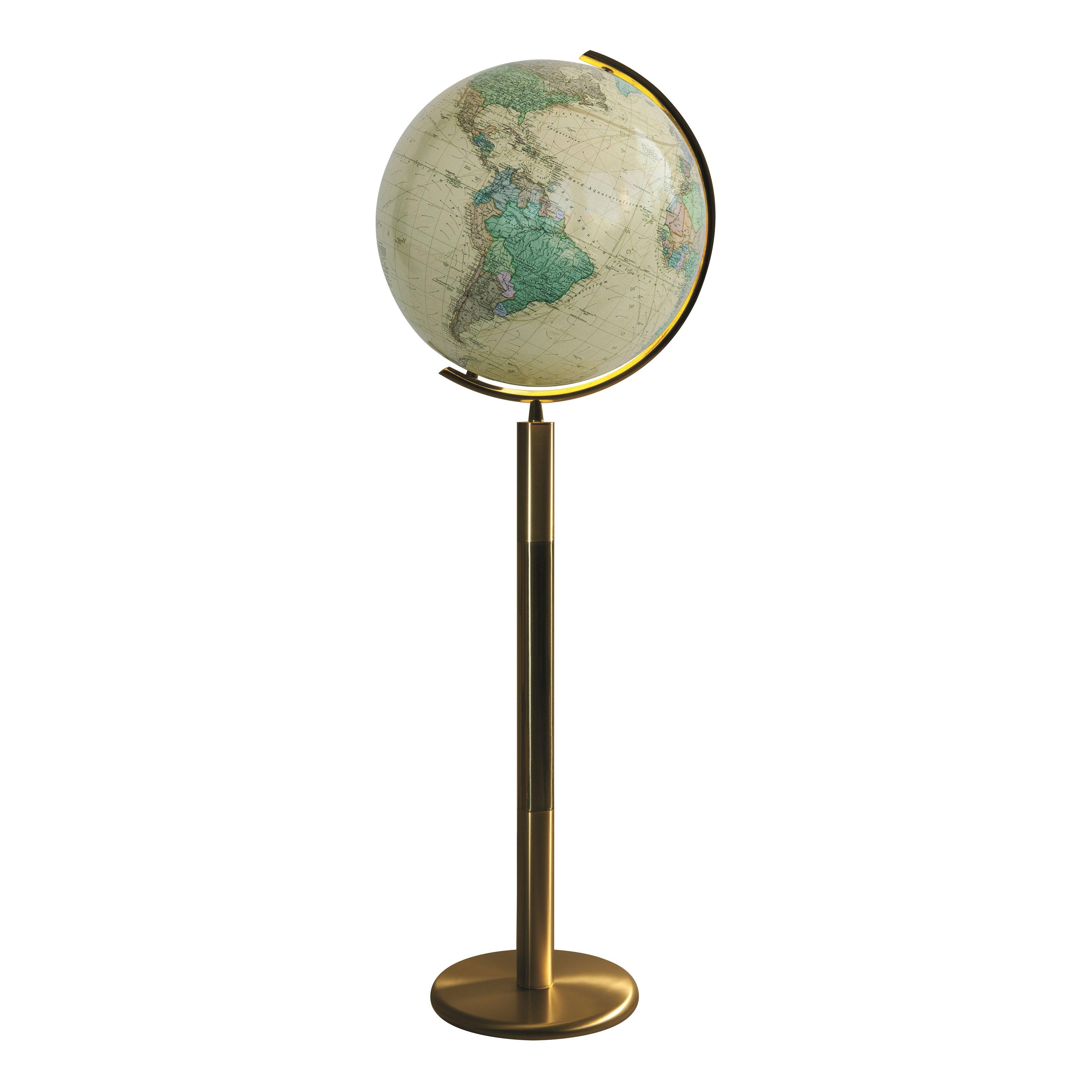Rosenheim Illuminated Floor Globe Wayfair