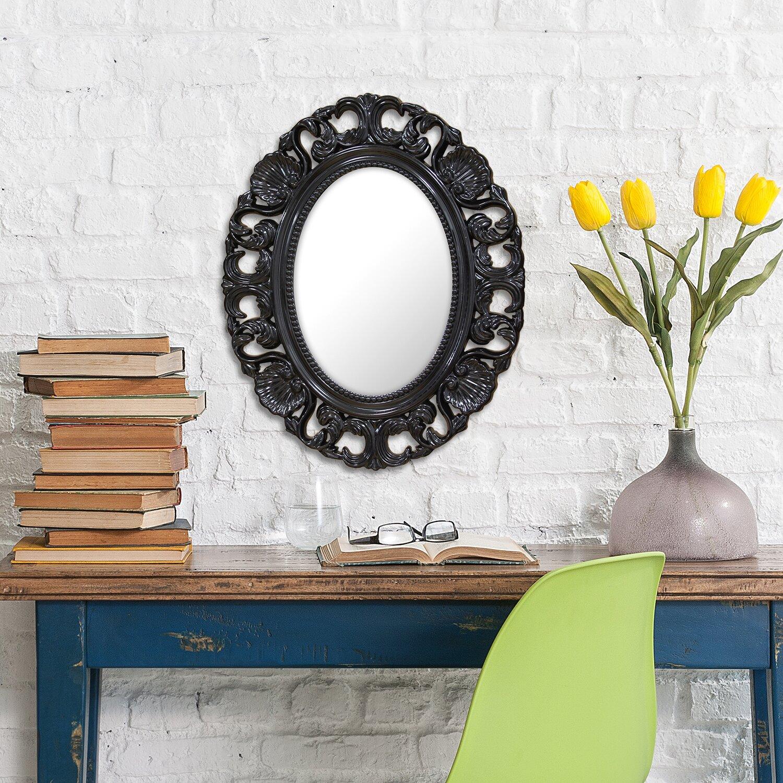 Stratton Home Decor Baroque Wall Mirror : Stratton home decor baroque wall mirror reviews wayfair