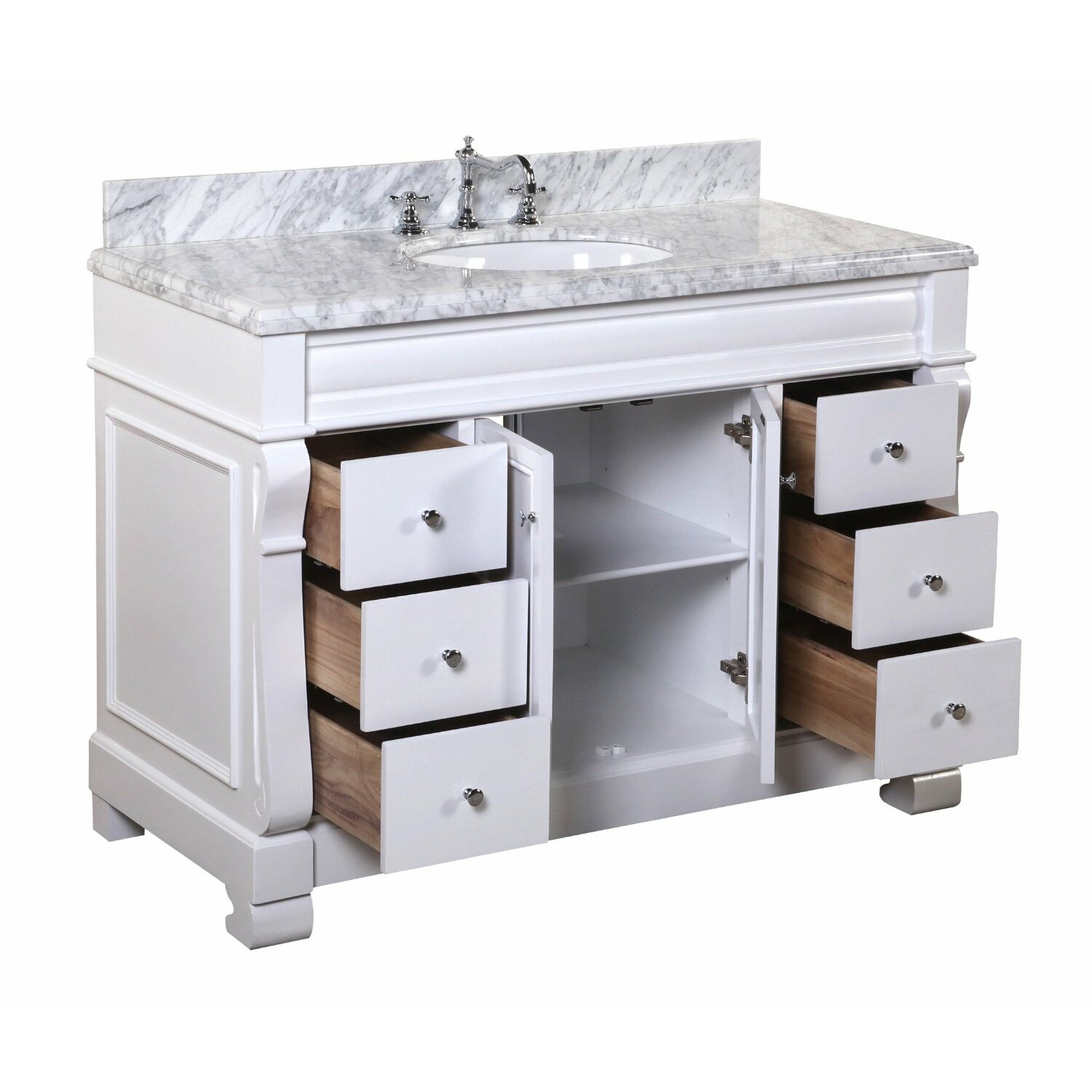 Kbc Westminster 48 Single Bathroom Vanity Set Reviews Wayfair