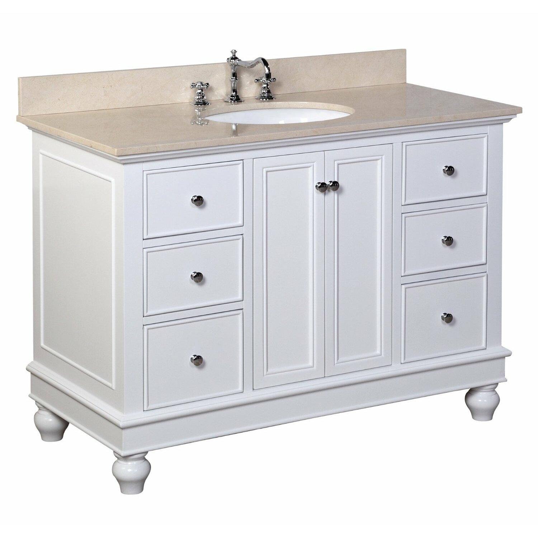 """KBC Bella 48"""" Single Bathroom Vanity Set & Reviews"""