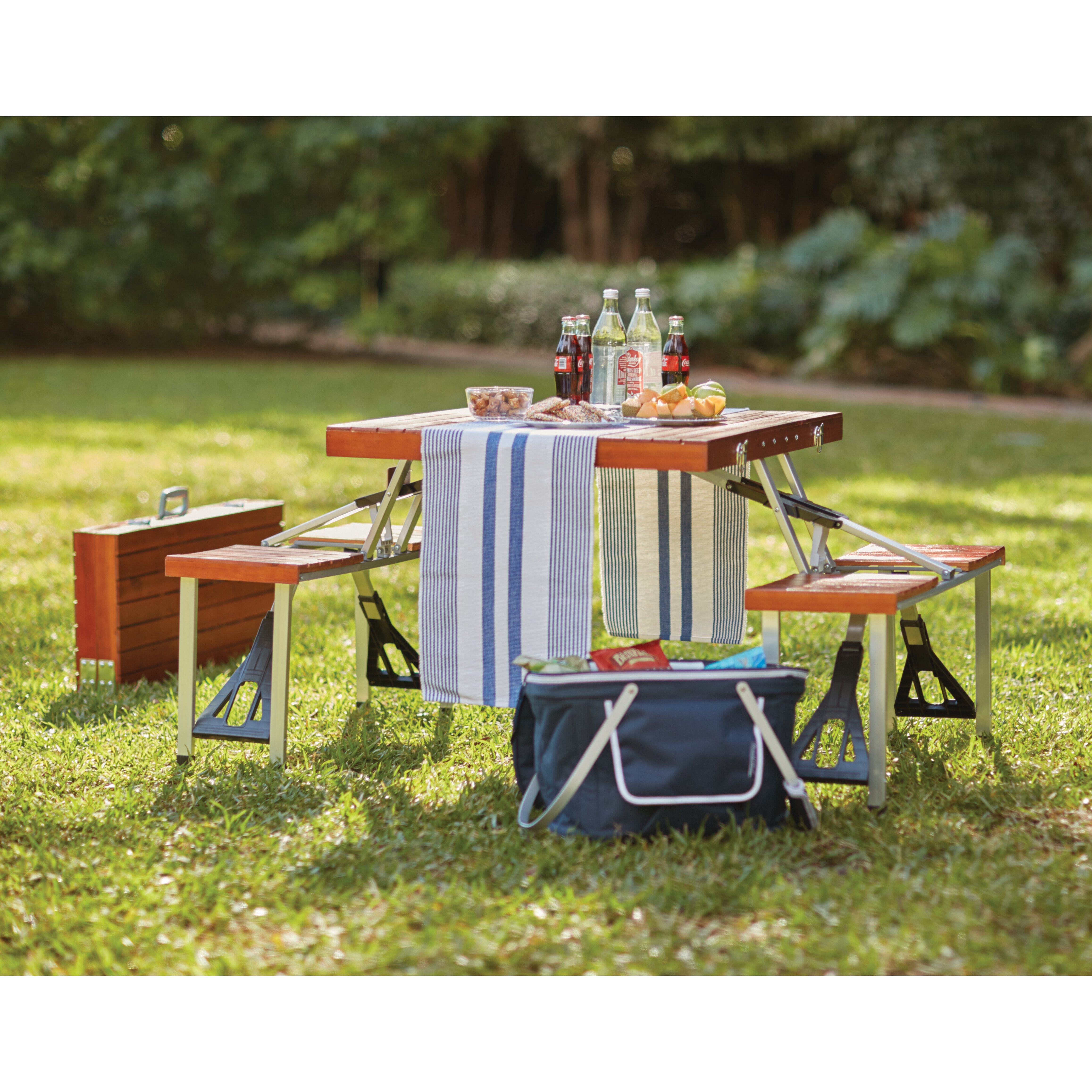 Red Barrel Studio Second Street Picnic Table Amp Reviews