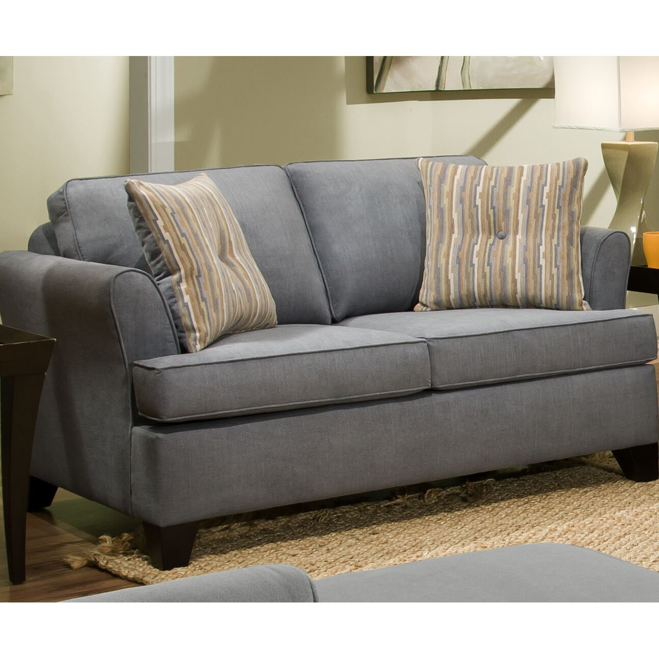 red barrel studio simmons upholstery antin sleeper sofa reviews