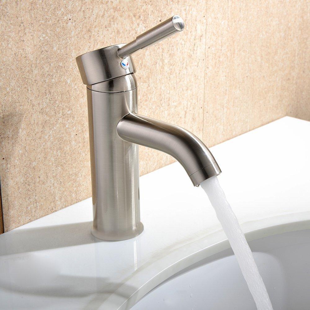 Single Hole Single Handle Bathroom Faucet : MTDVanities Single Handle Single Hole Faucet & Reviews Wayfair
