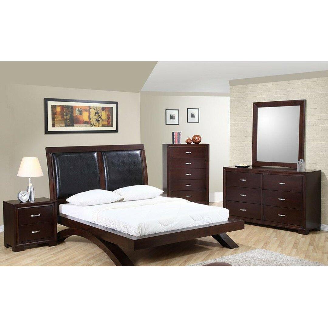 radcliff platform customizable bedroom set wayfair