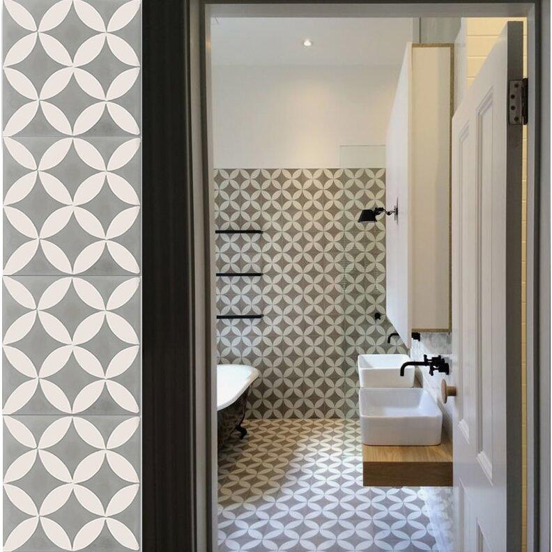 Moroccan Mosaic Tile House Amlo 8 X 8 Handmade Cement