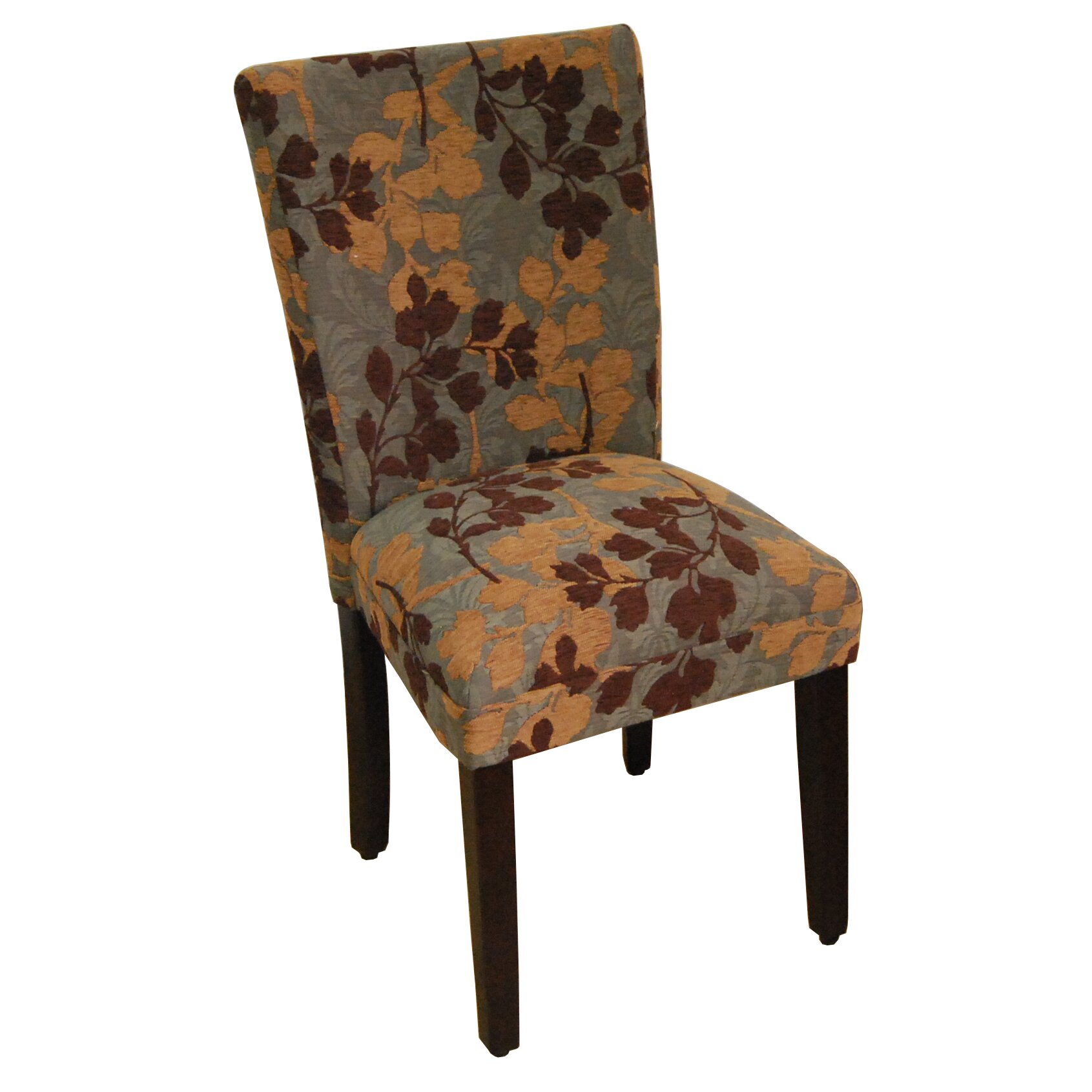 Homepop kinfine classic upholstered parsons chair for Upholstered parson dining chairs
