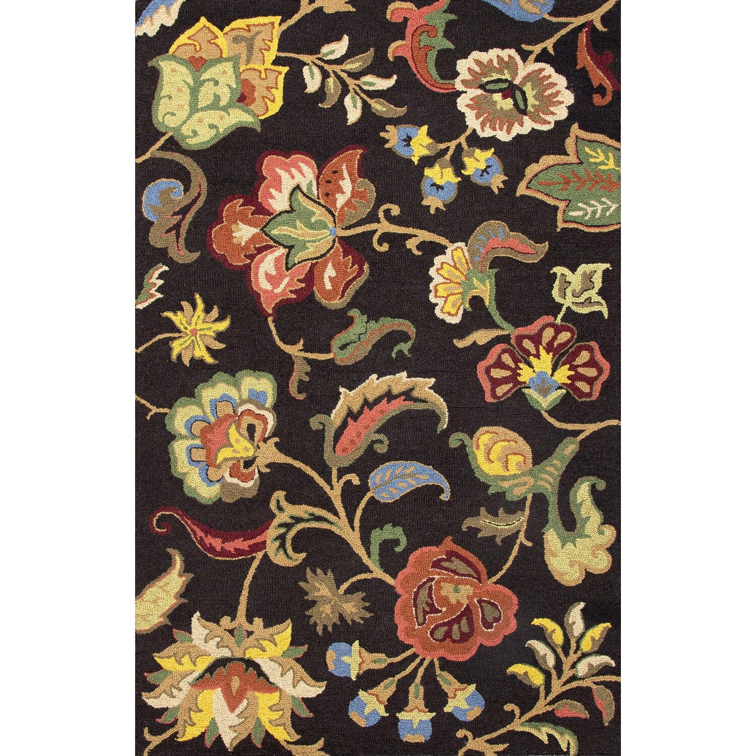 Jaipur Rugs Hacienda Black Floral Area Rug Amp Reviews Wayfair