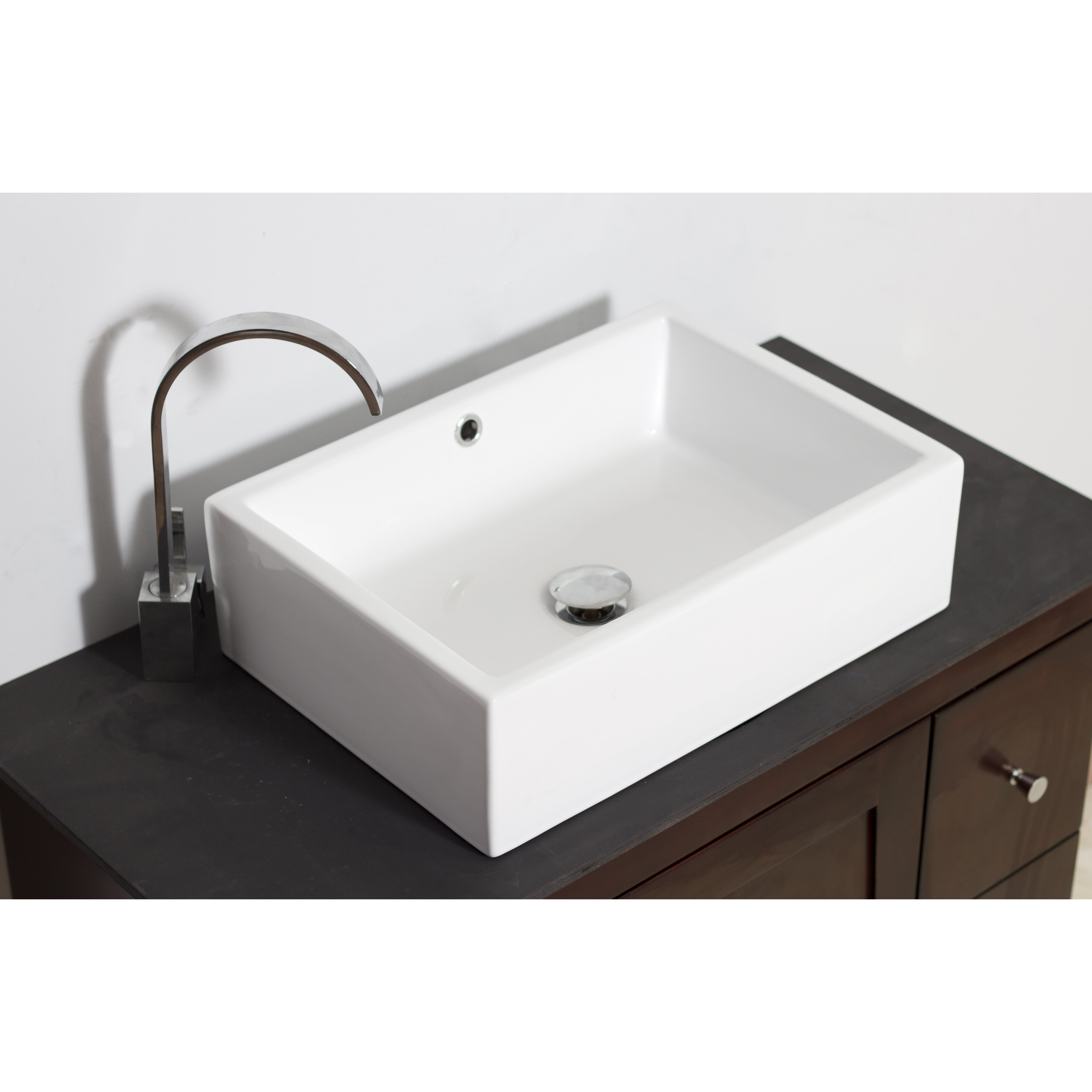 Http Www Wayfair Com Above Counter Rectangle Vessel Bathroom Sink Ai 1299 Amim2141 Html