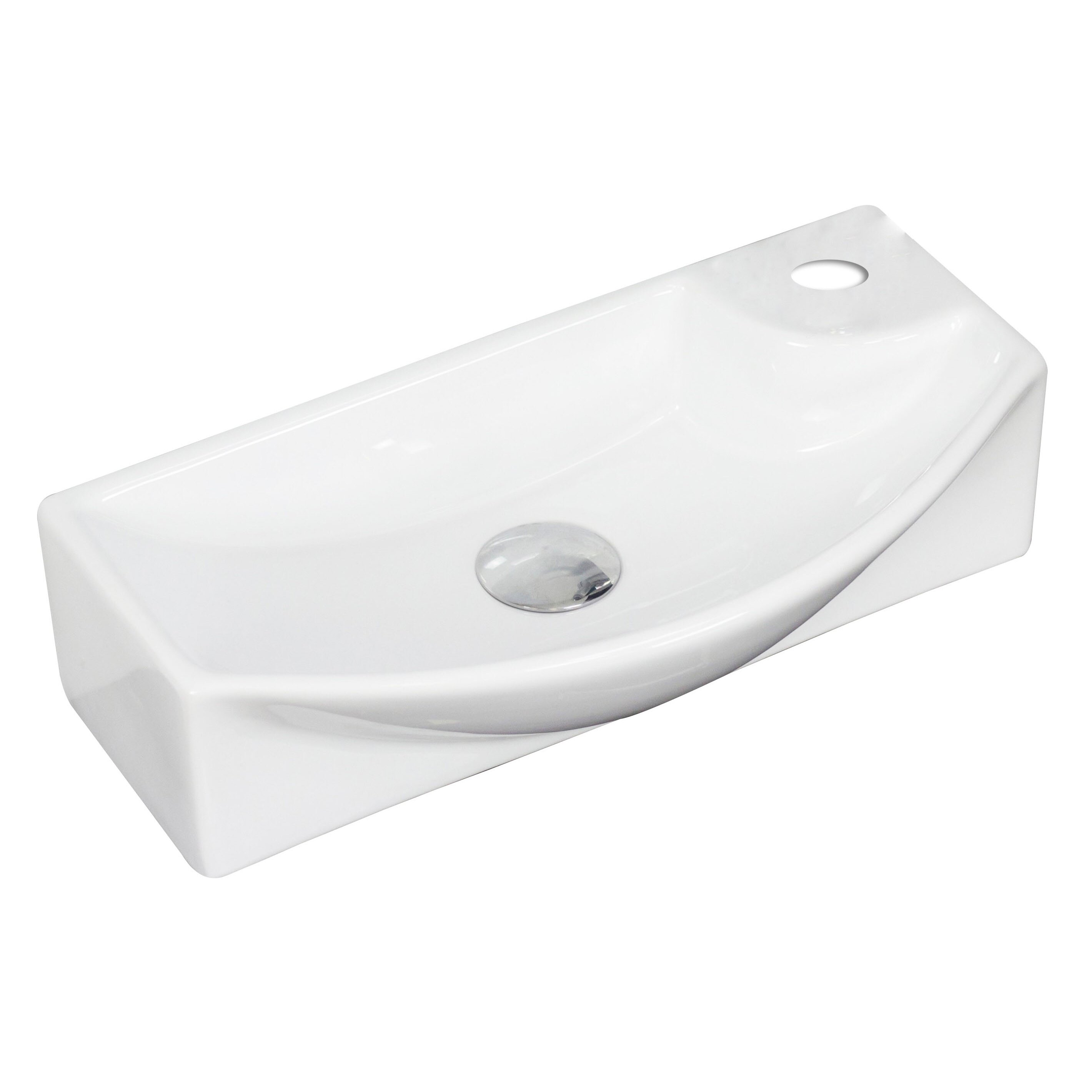 Rectangle Vessel Sink by American Imaginations
