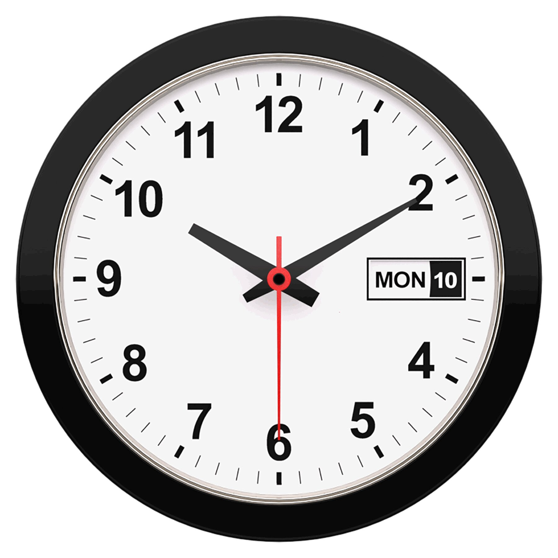 Artistic Products Date Time 12 Wall Clock Reviews
