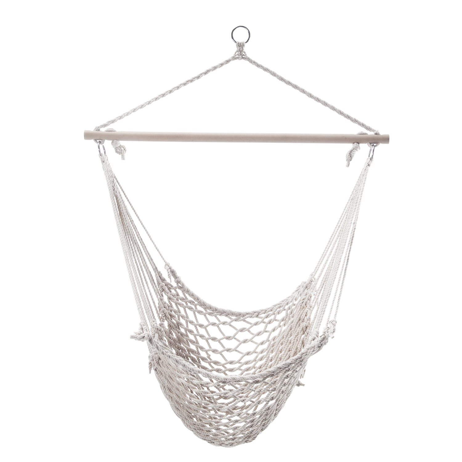 point rope hammock chair