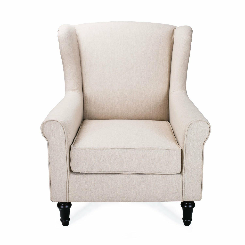 Living room single lounge chair wayfair for Living room single chairs