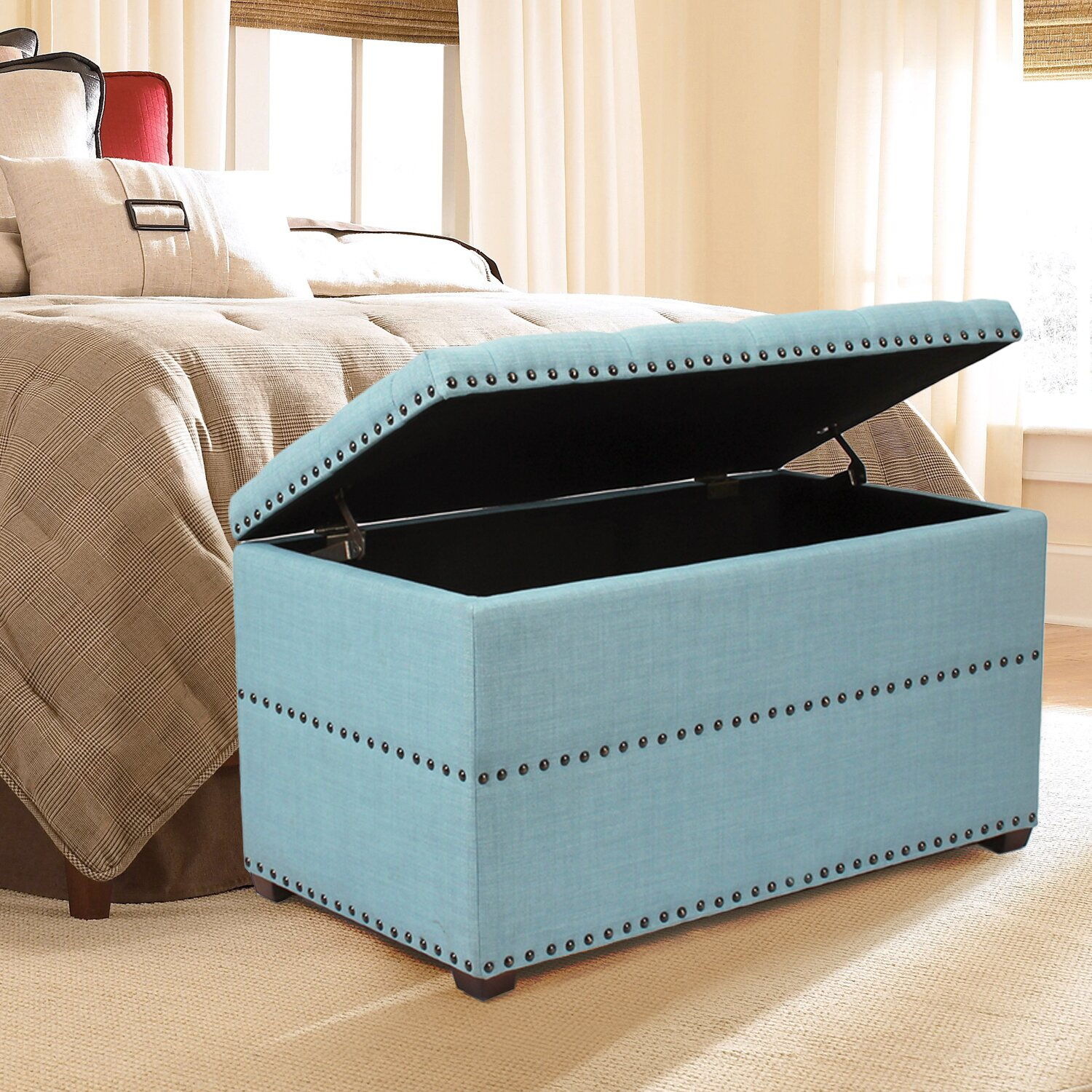 Adecotrading Storage Bedroom Bench Reviews Wayfair