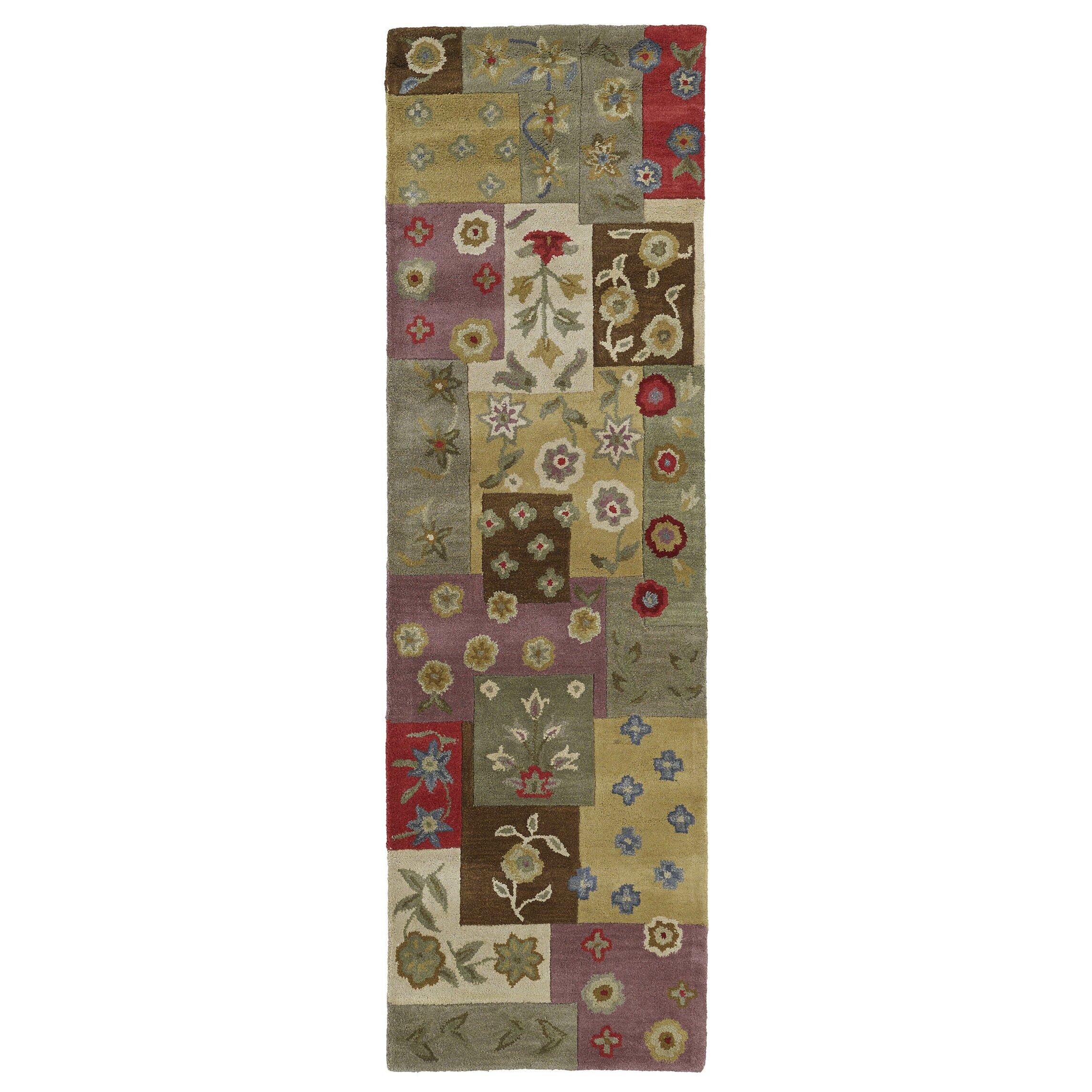 8 Apsley Place Kaleen Kaleen Khazana Patchwork Ivory Quilt Rug