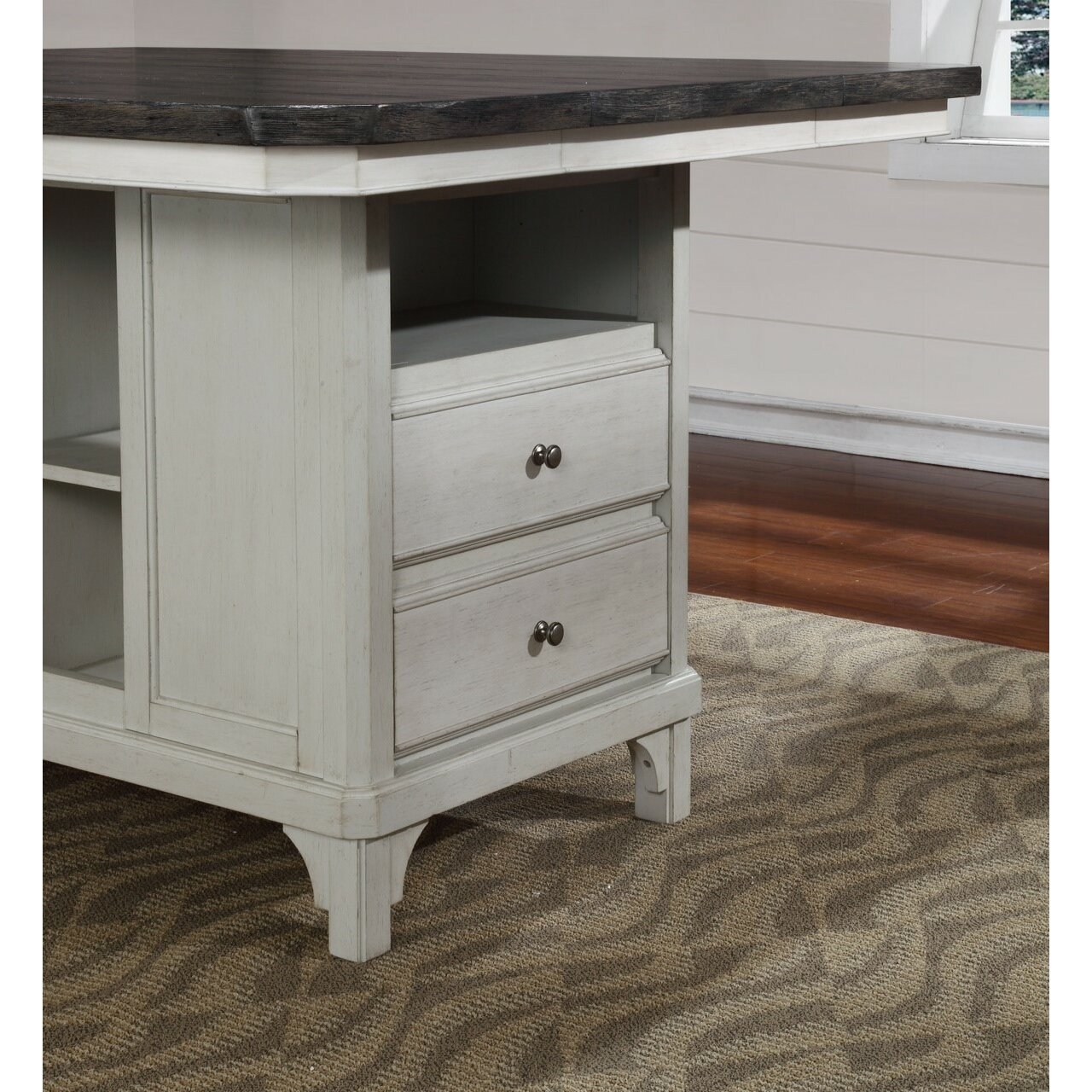 Kitchen Island Furniture: Avalon Furniture Mystic Cay Kitchen Island & Reviews