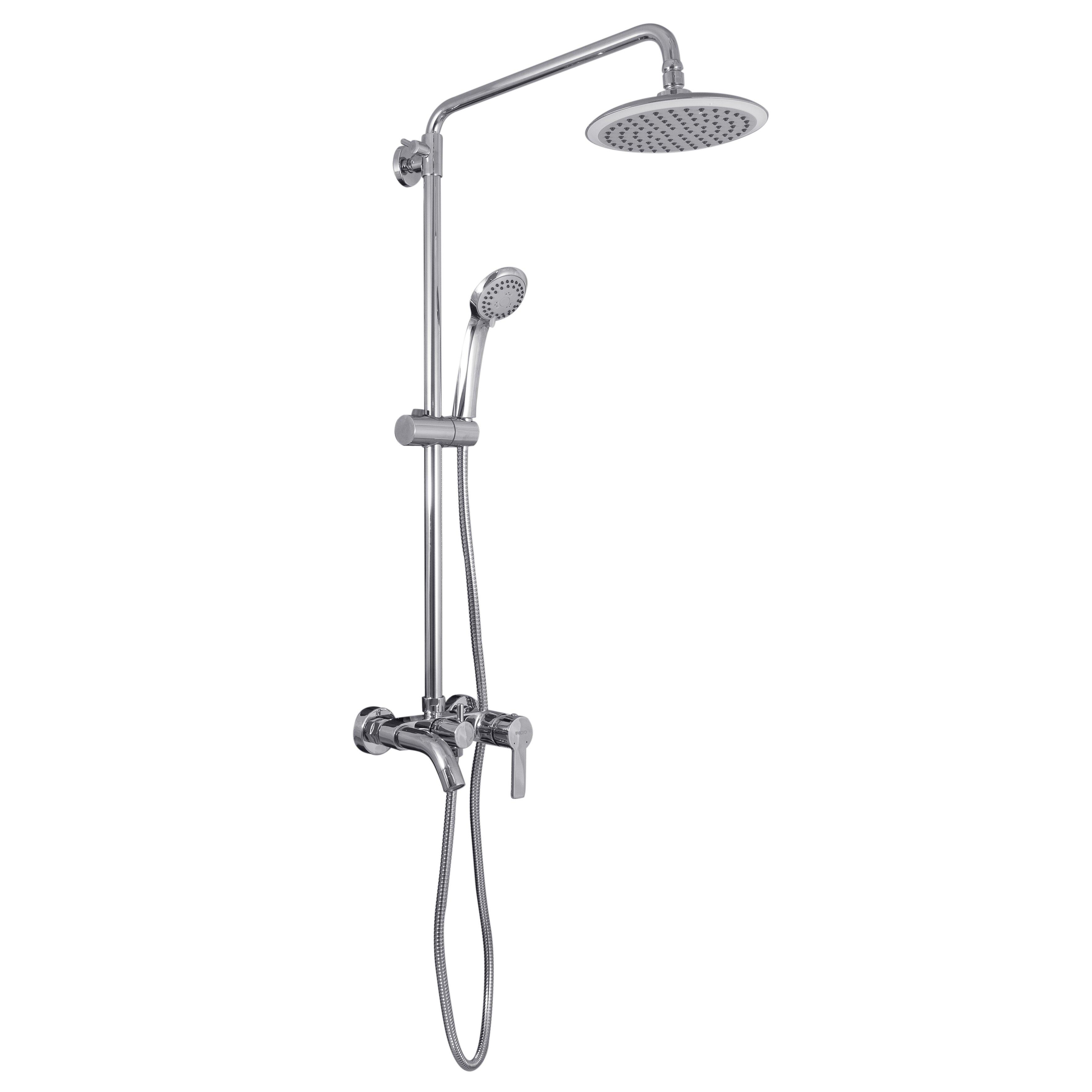 bath shower faucet wayfair bathroom bath amp shower faucet brass shower mixer