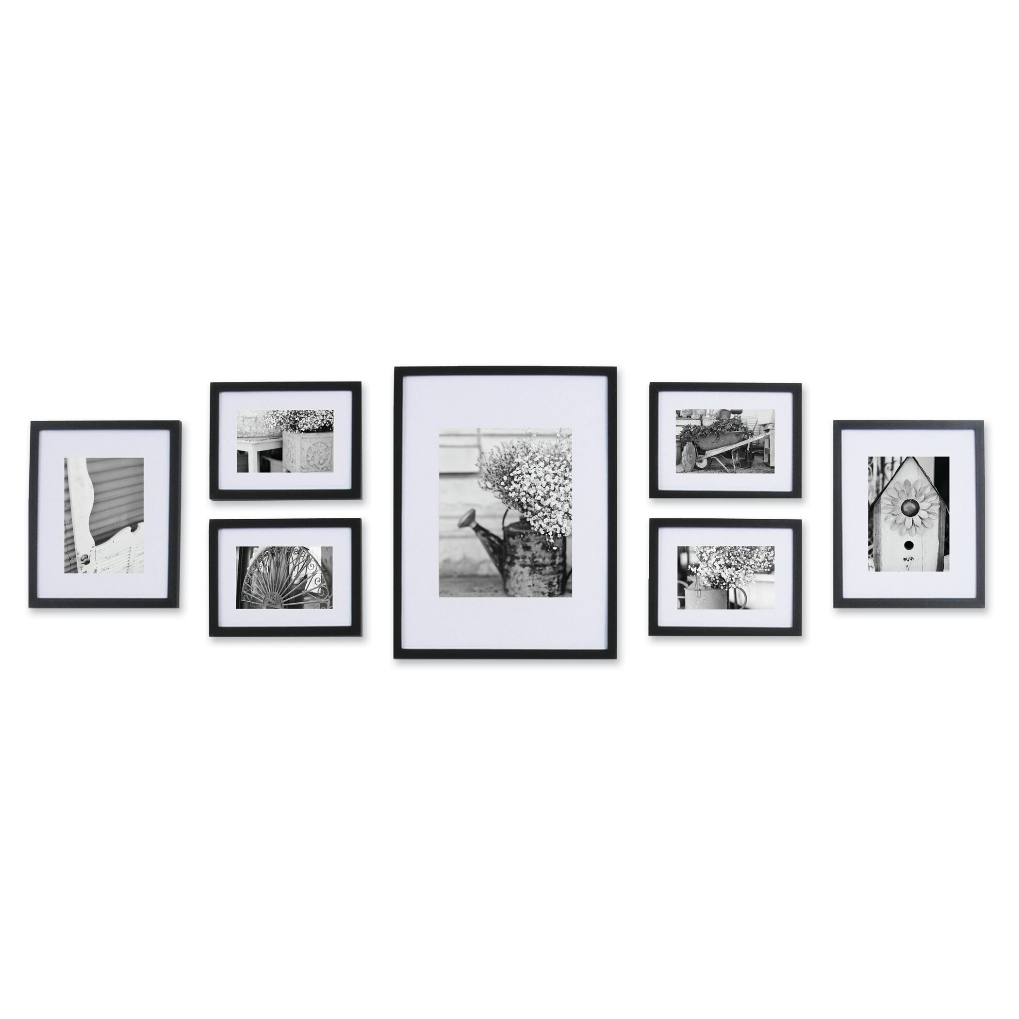 nielsenbainbridge gallery 7 piece perfect wall picture