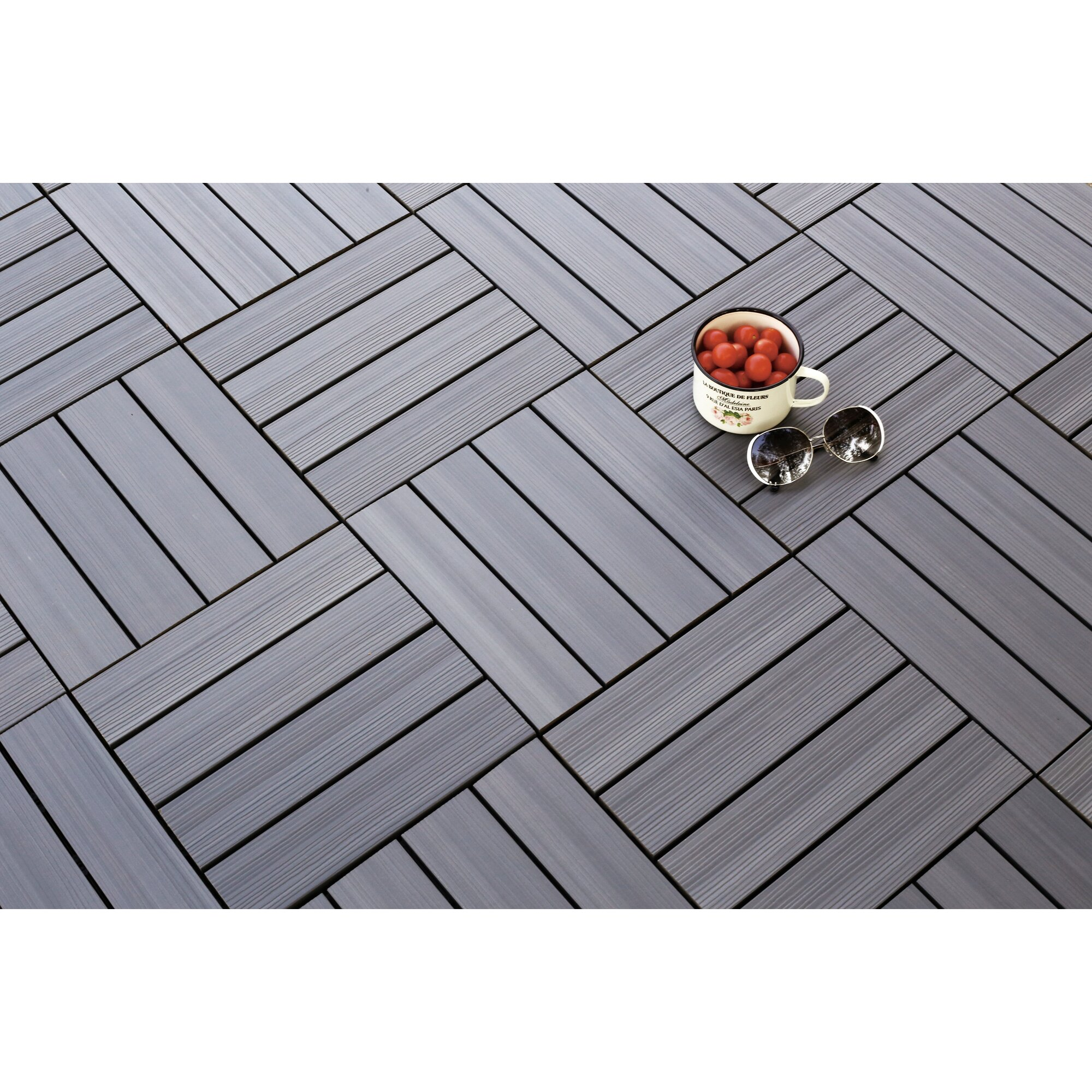 Interlocking floating outdoor carpet tiles meze blog carpet tiles newtechwood ultrashield westminster wood 12 x outdoor posite quick interlocking baanklon Image collections