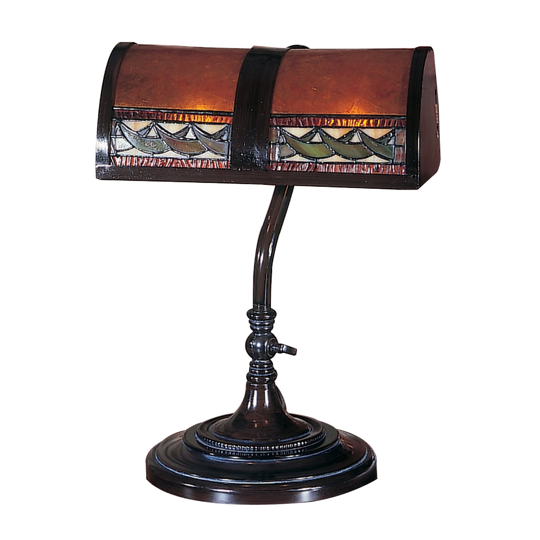 dale tiffany egyptian 14 h table lamp with rectangular shade. Black Bedroom Furniture Sets. Home Design Ideas